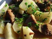 Cocotte rouelle porc navets