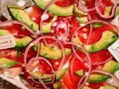 """Salade vitaminée """"sapin Noël"""""""