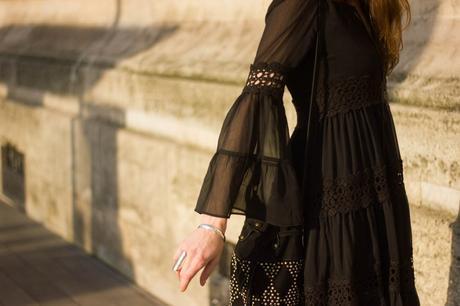 robe bras transparents