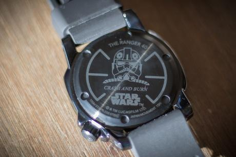 montre star wars nixon ranger 40 avis test crash and burn