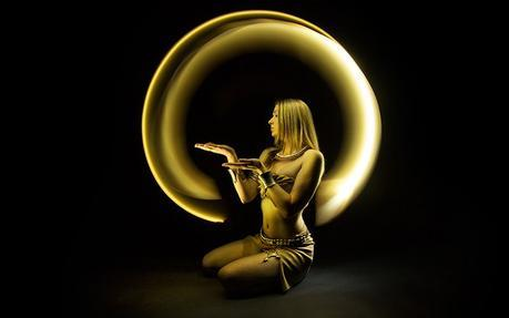 Light painting par Eric Pare