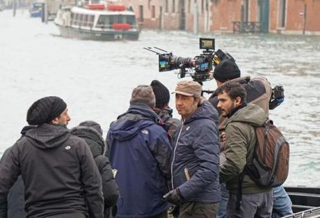 Venezia, 11/01/16 - Set film