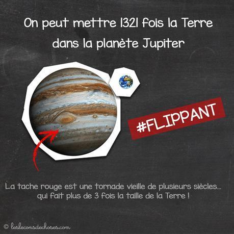 Taille de la Terre vs. taille de Jupiter