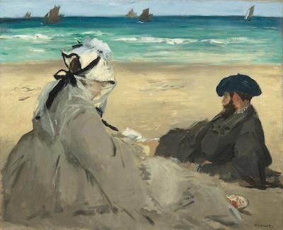Édouard Manet, Sur la plage, 1873, Musée d'Orsay © RMN-Grand Palais / Hervé Lewandowski