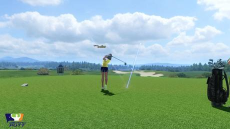 Winning Putt beta ouverte gameplay jeu de golf pc screenshot2
