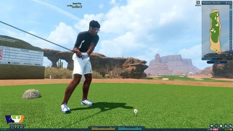 Winning Putt beta ouverte gameplay jeu de golf pc screenshot5