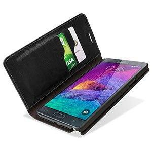 Housse Samsung Galaxy Note 4 Encase Portefeuille screenshot3