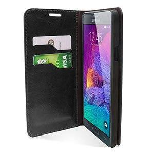 Housse Samsung Galaxy Note 4 Encase Portefeuille screenshot4