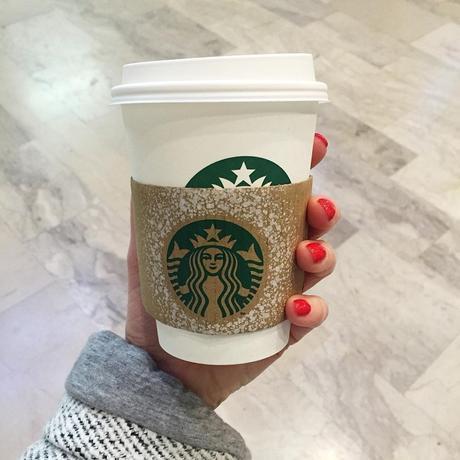 chaï tea latte Starbucks Paris