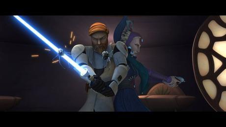 Obi Wan et la duchesse Satine