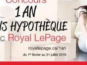 Courez chance gagner jusqu'à paiements hypothécaires avec Royal LePage!
