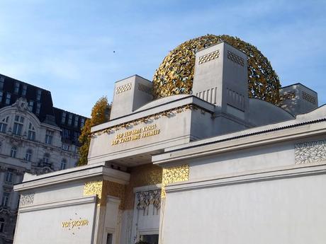 Vienne Vienna Wien sécession palais klimt