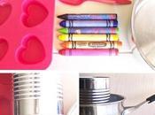 Crayon coeurs Crayola recyclés