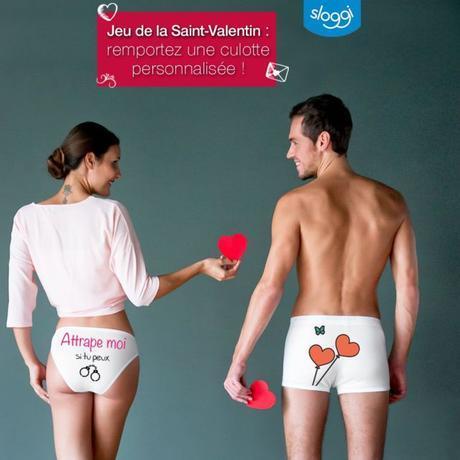 Une Saint Valentin glamour avec Sloggi