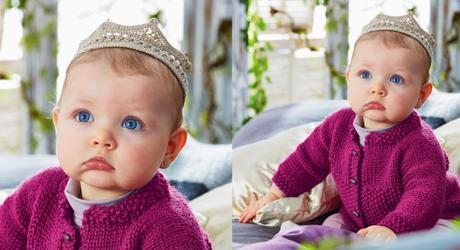 Couronne Au Crochet Pour Bébé De Sortie Paperblog