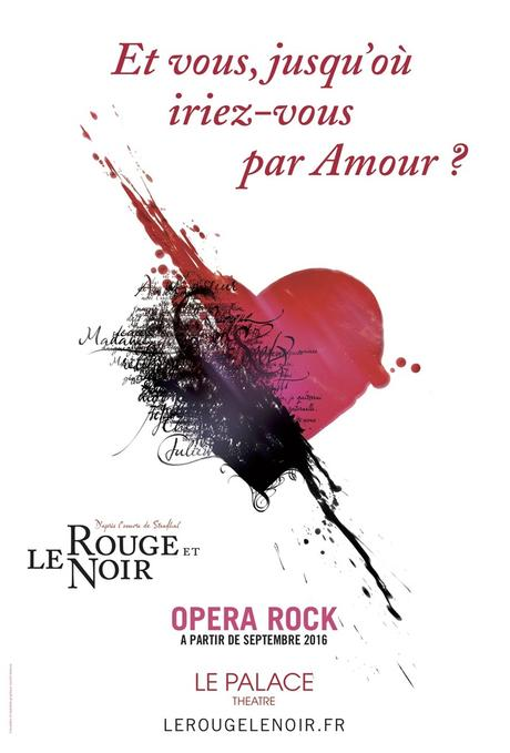 """LE ROUGE NOIR, Opera Rock"" Palace Septembre 2016"