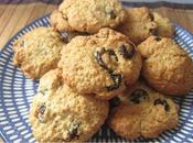 Cookies cranberries d'avoine