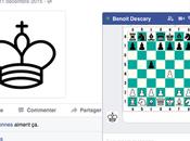 Vous pouvez jouer échecs Facebook Messenger