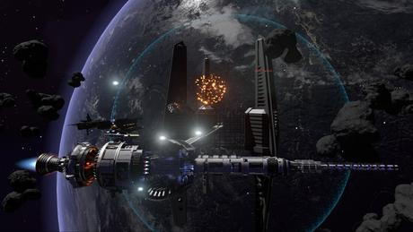 Fractured Space explosion