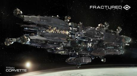 Fractured Space Gamers Geek Logo