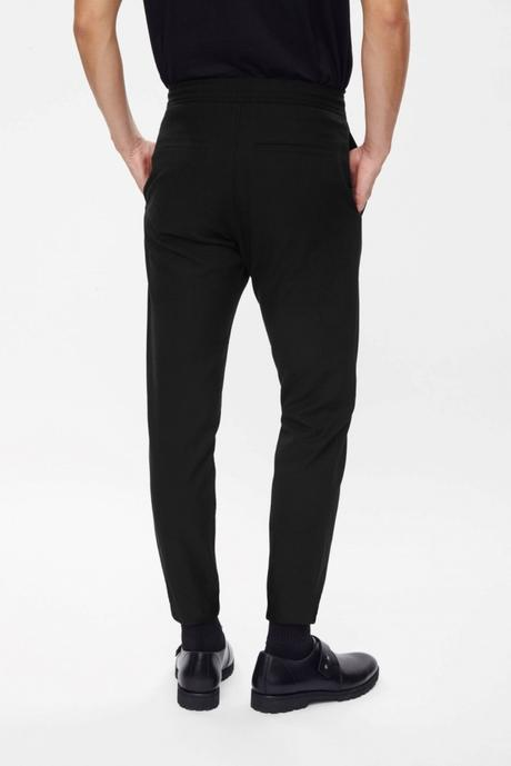 ELASTICATED CUFF TROUSERS