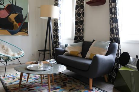 La décoration dans l'appartement de Marion Paris 18ème