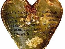 cœurs embaumés depuis découverts dans couvent Rennes