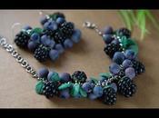 Bracelets fruits bois