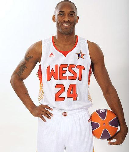 Retour sur l'ensemble des maillots de la carrière de Kobe Bryant