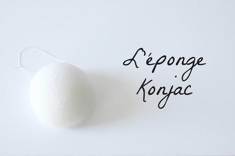 L'éponge konjac : un coup de coeur
