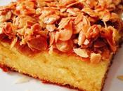 Tosca Cake gâteau suédois amandes caramélisées