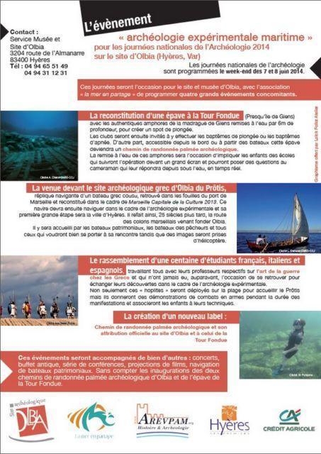 Festival  international du monde sous-marin de Hyères et de son patrimoine maritime