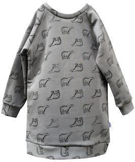 robe sweat original enfant cadeau vêtement made in france