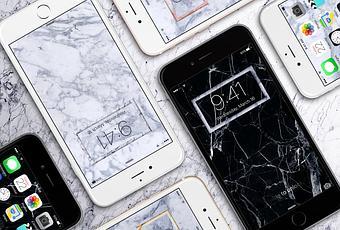 fond d 39 cran votre iphone va rester de marbre d couvrir. Black Bedroom Furniture Sets. Home Design Ideas