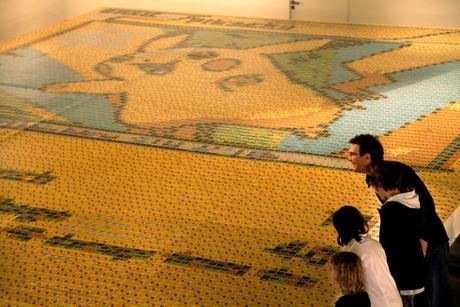 La plus grande carte Pokémon du monde livre des records Quentin Devine259