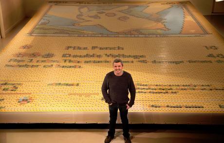 La plus grande carte Pokémon du monde livre des records Quentin Devine25666