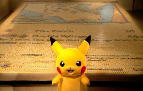 La plus grande carte Pokémon du monde livre des records Quentin Devine52