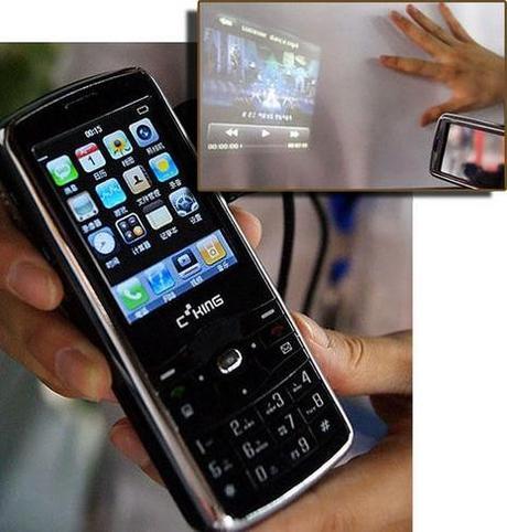 Téléphone vidéoprojecteur