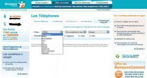 iphone chez bouygues telecom