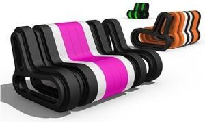 Canapé extensible Q-Couch