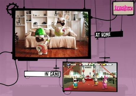 Les Lapins Crétins 3 utiliseront la planche de Wii Fit