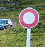 Les routes forestières sont interdites à la circulation
