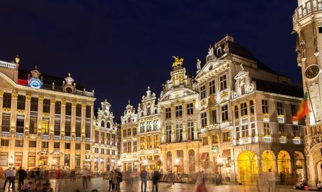La Belgique est aussi le pays de villes magnifiques. Comme Bruxelles...
