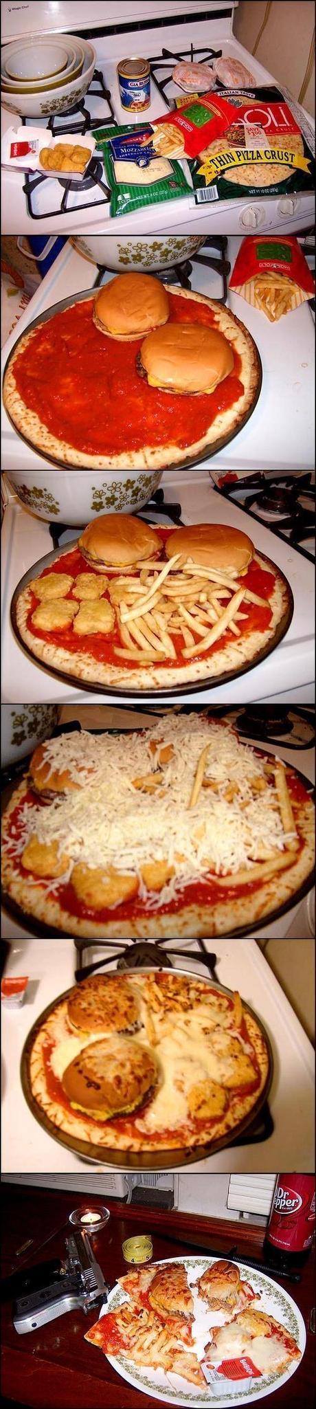 Pourquoi vous maltraitez la nourriture comme ça?