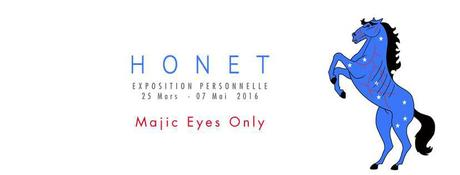 Vernissage Exposition HONET – Majic Eyes Only à la Galerie At Down Montpellier