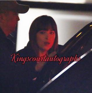 Photos sur le tournage de Fifty Shades Darker - Day 38