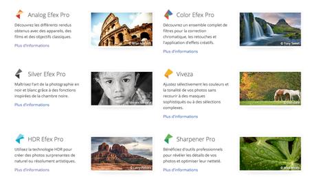 Les outils de retouche photo Google Nik Collection sont gratuits