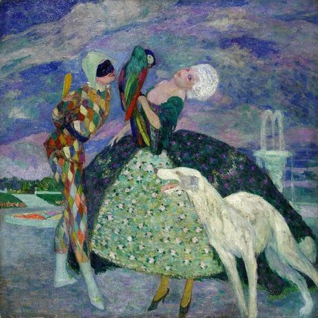 M 1910 ca Umberto Brunelleschi Arlecchino e Colombina