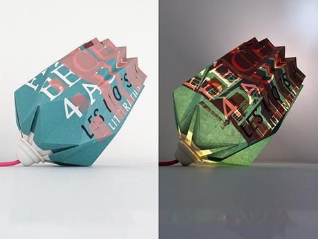 Les lampes Origami Inoow x Dezzig