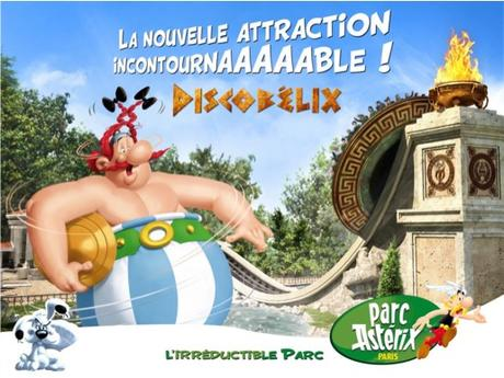 Parc Astérix Nouvelle attraction 2016 Discobélix